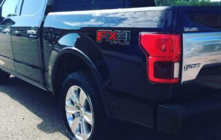 Ceramic Coating on a Ford F150 FX4 at Pro Auto Spa in Colorado Springs