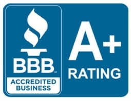 Qualifications BBB A+ Rated Badge at Pro Auto Spa in Colorado Springs
