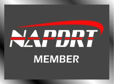 Qualifications NAPDRT Member Badge at Pro Auto Spa in Colorado Springs