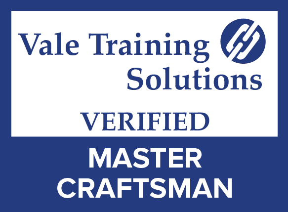 Qualifications - Vale Training Solutions Verified Master Craftsman