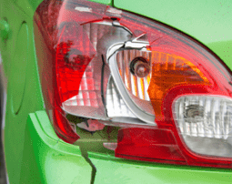 Cracked Taillight cover repair