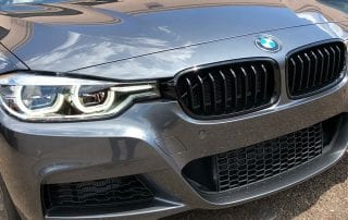 Shiny BMW detail at Pro Auto Spa in Colorado Springs