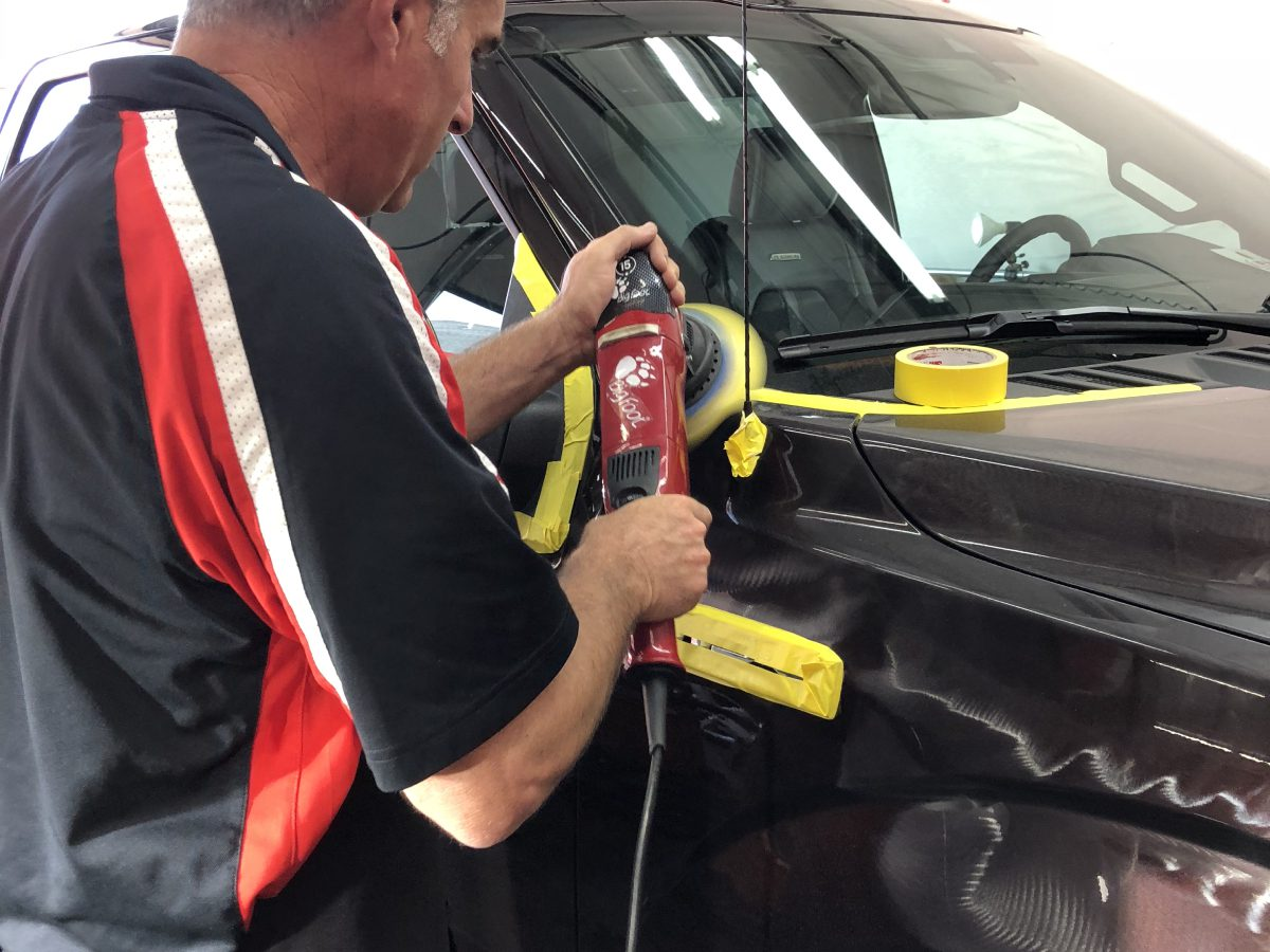 Polishing and Paint Correction by Ryan Smith at Pro Auto Spa in Colorado Springs