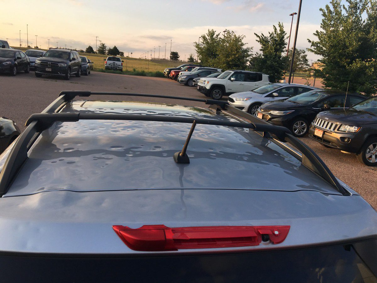 Hail Damage Repair roof at Pro Auto Spa in Colorado Springs