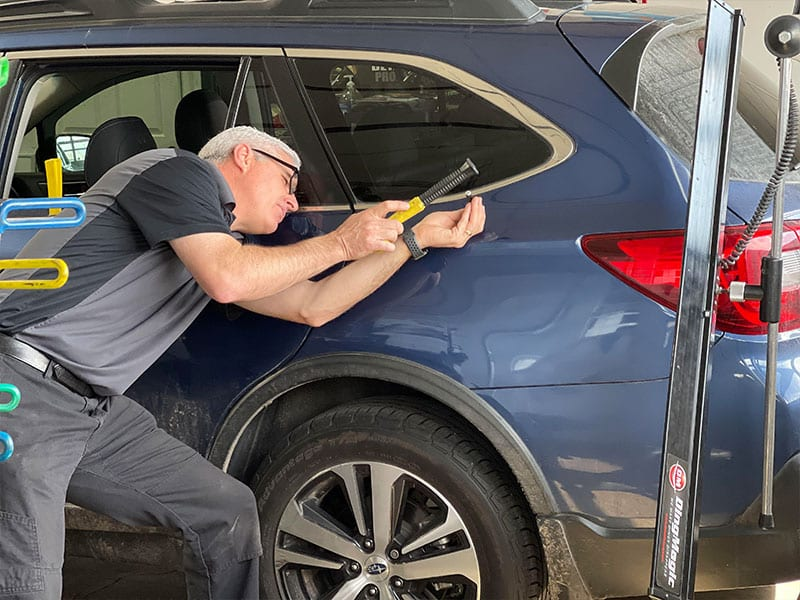 Paintless Dent Repair at Pro Auto Spa in Colorado Springs by Ryan Smith