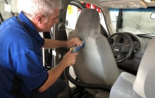 Ryan doing Professional Detail of a Jeep at Pro Auto Spa in Colorado Springs