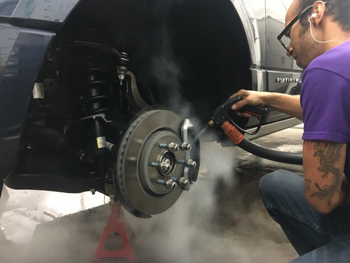 Cleaning Brake Pads and Calipers in Colorado Springs