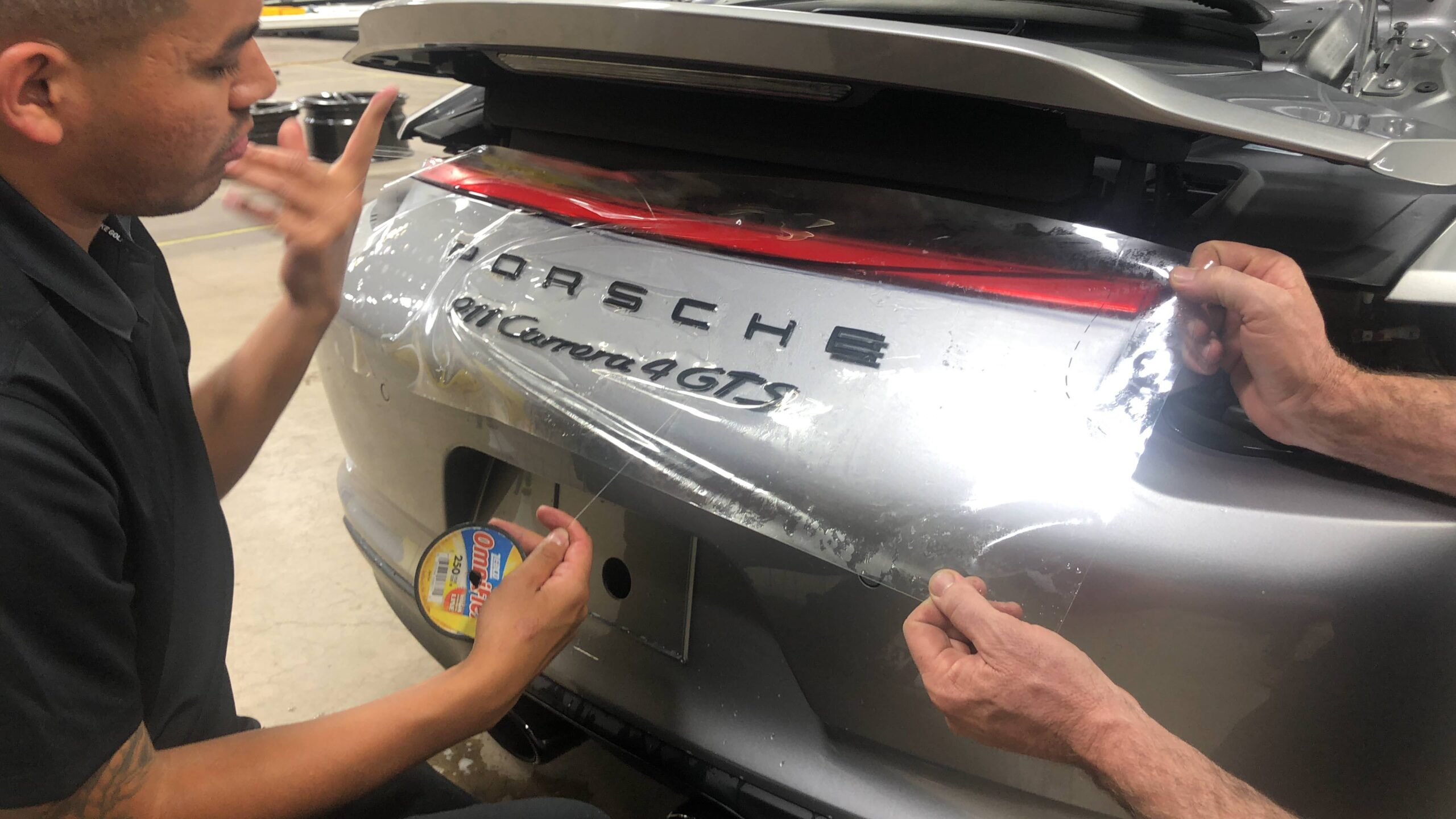 Porsche Carrera with Paint Protection Film