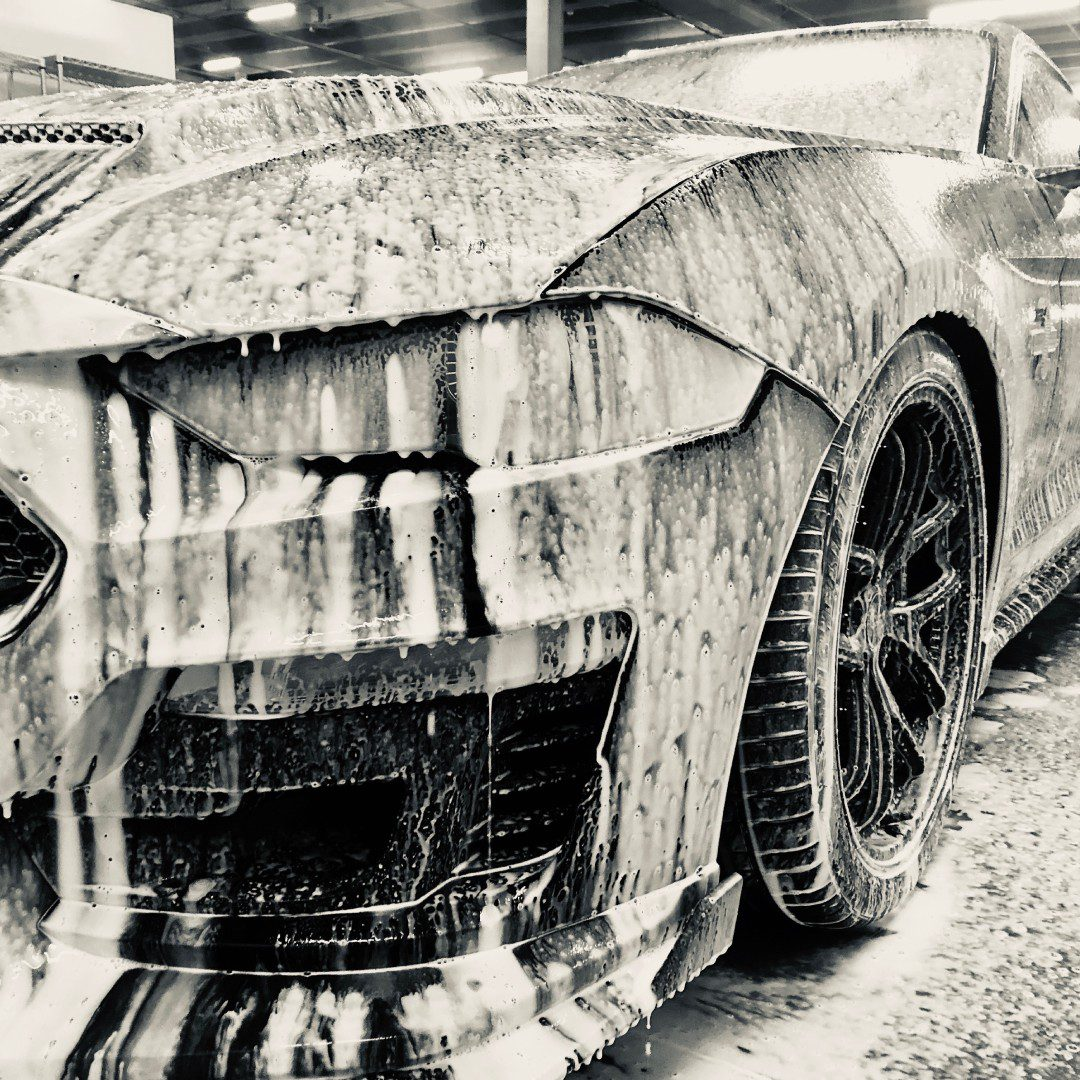 Does car detailing include cleaning painted surfaces